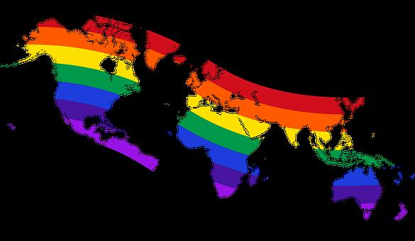 World, Map, Love, Diversity, Geography