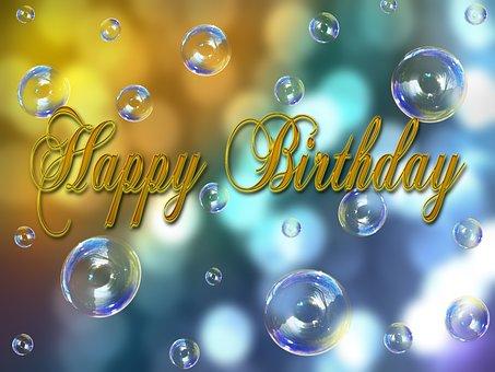 Birthday, Happy Birthday, Congratulations, Greeting