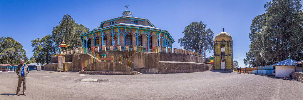 Entoto, Addis Ababa, Ethiopia, Church, Orthodox, Copts