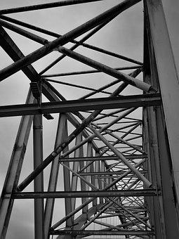 Bridge, Architecture, Landmark, Indonesia