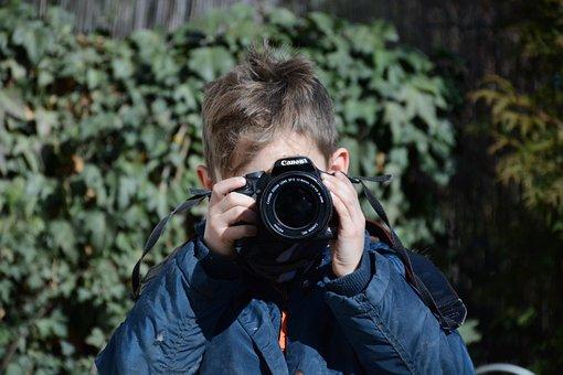 Child, Photographer, People, Boy, Photo, Portrait