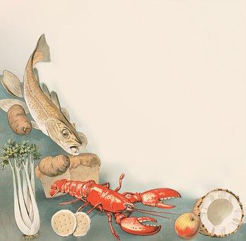 Fish, Lobster, Celery, Food, Potato