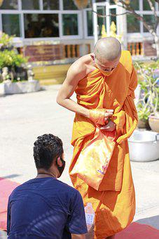 Priest, พระ, Monks, Merit, Religion