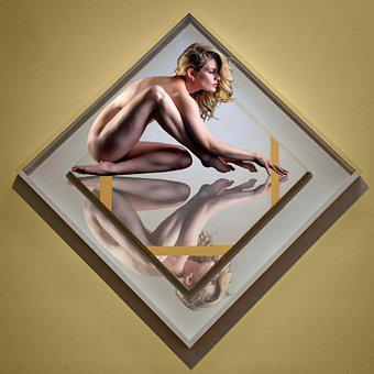 Digital Art, Support, Reflection, Abstract, Design
