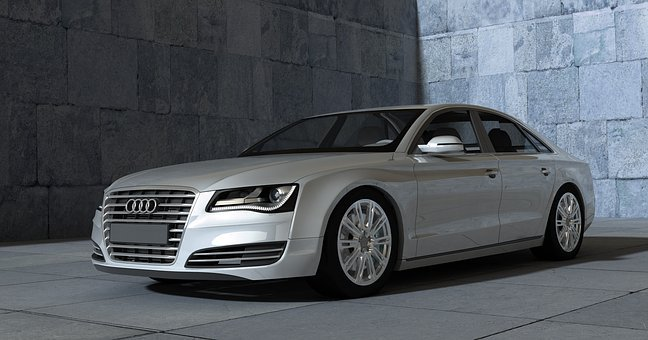 Audi, A8, Sports Car, Auto, Automobile, Contour