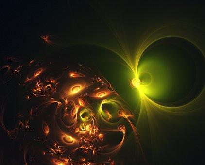 Fractal, Light, Light Fractal, Cosmic