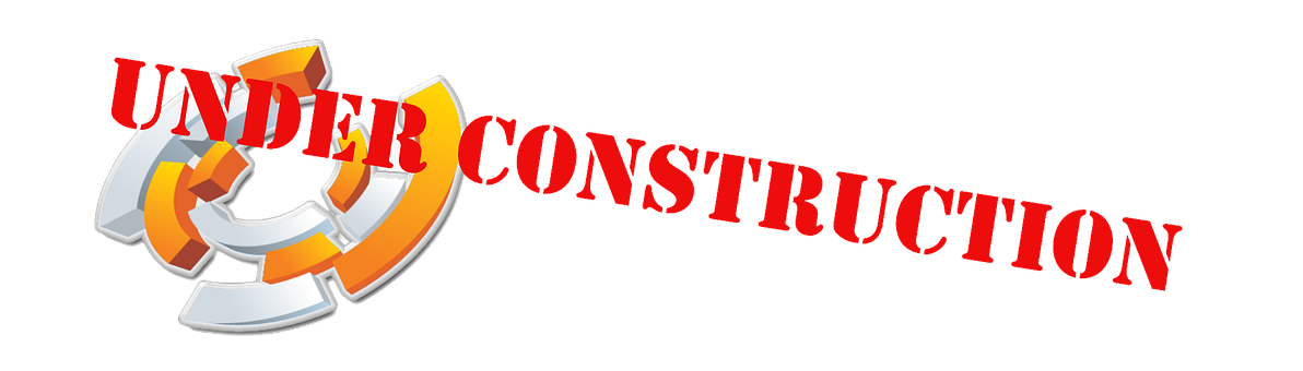 Under Construction, Logo, Red
