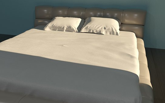 Bed, Room, 3d, Render, Architect, Furniture, Bed Room
