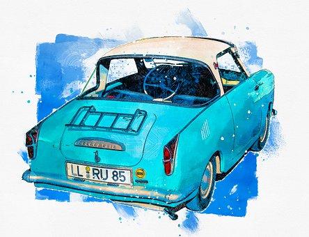 Goggomobil, Old Car, Classic, Old Timer, Rarity