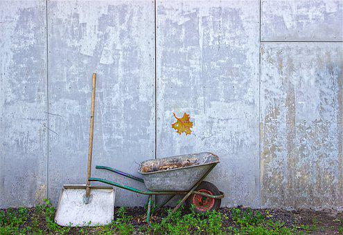 Equipment, Gardening, Tools, Garden, Soil, Dirt, Wheel