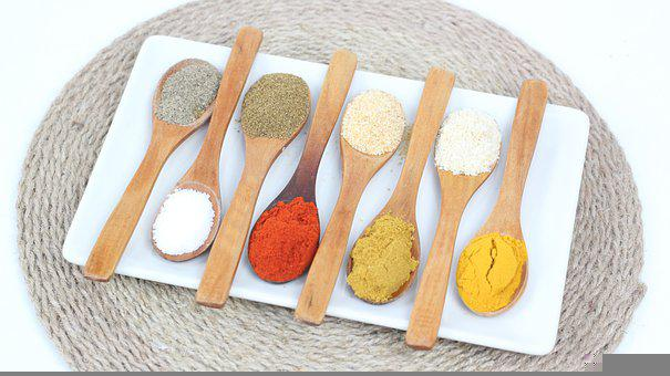 Spices, Vegan, Vegan Food, Kitchen Vegan, Kitchen, Food