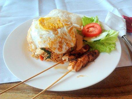 Nasi, Bali, Sate