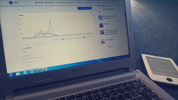 Books, E-book Reader, Statistics