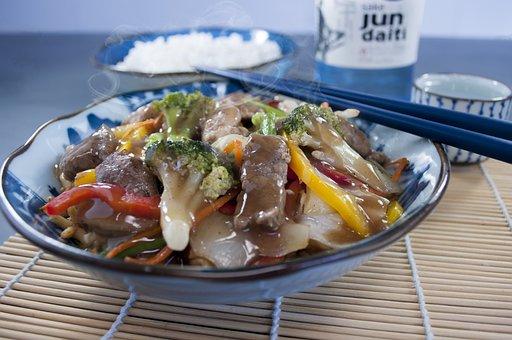 Pasta, Food, Cook, Oriental, Chicken Chow Mein, Meal