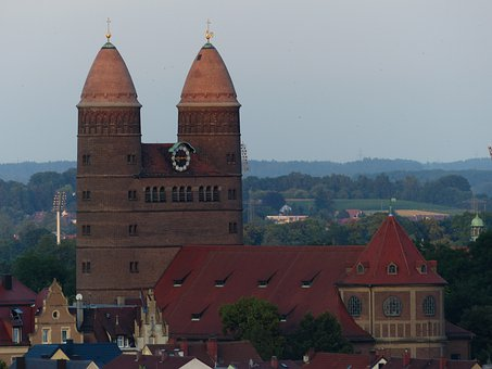 St Paul's Church, Church, Ulm, Protestant, Double Tower