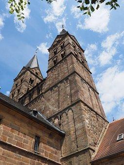 Dom, Towers, Church Steeples, Church, Fritzlar
