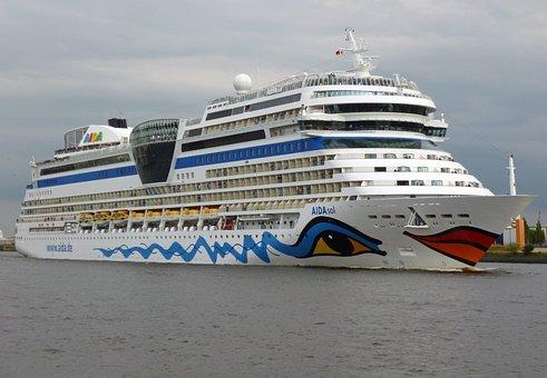 Aida Sol, Cruise Ship, Port, Ship, Cruise, Aida