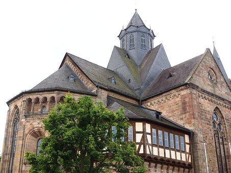 Dom, Church, Fritzlar, Fritzlar Cathedral, Gothic
