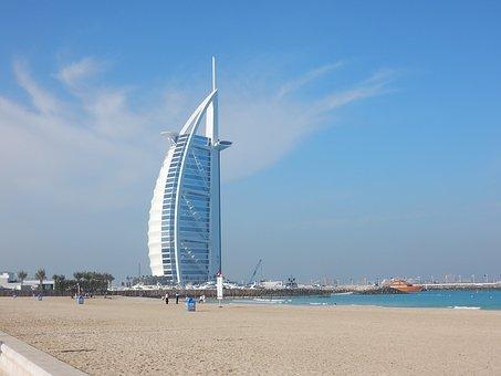 Dubai, Emirates, U A E, Burj Al Arab, Dubai City