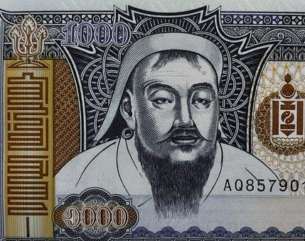 Money, Mongolia, Currency, Bank, Finance, National