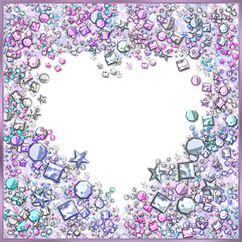 Heart, Star, Glitter, Sequins, Sparkle, Sparkling