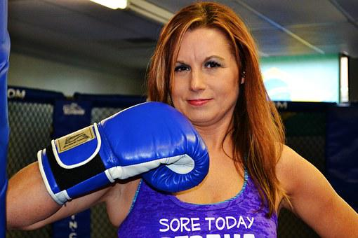 Fitness, Boxing, Woman, Training, Body, Healthy, Boxer