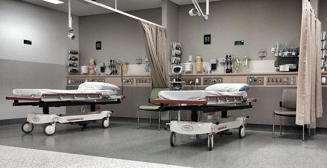 Hospital, A E, Emergency, Hospital Beds, Hospital Ward