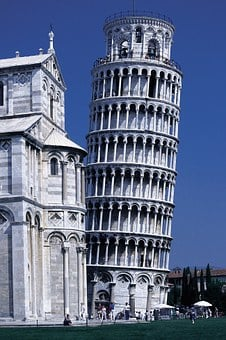 Pisa, Dom, Leaning Tower, Italy, Architecture, Building
