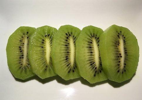 Cuixiang Kiwi, Zhouzhi Kiwi Green Heart, Kiwi Slices