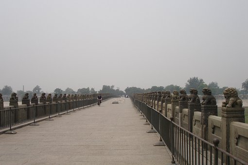 China, Beijing, Bridge, Marco Polo Bridge, Lugou Bridge
