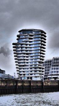 Harbour City, Hamburg, Hanseatic City, Marco-polo-tower