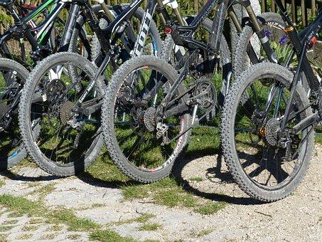 Mountain Bikes, Wheels, Mature, Tire Studs