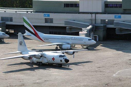 Model, Plane, Swissminiatur, Melide, Switzerland