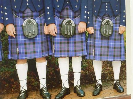 Kilts, Scotland, Scottish, Menswear, Raditional