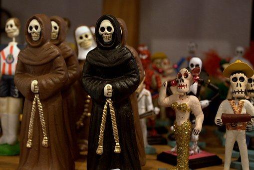El Dia De Los Muertos, Day Of The Dead, Mexican
