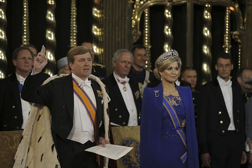 King Willem Alexander, Queen Maxima, Netherlands
