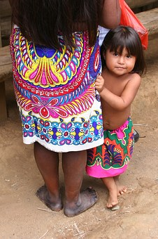 Panama, Girl, Child, Cute, Locals, People, Family