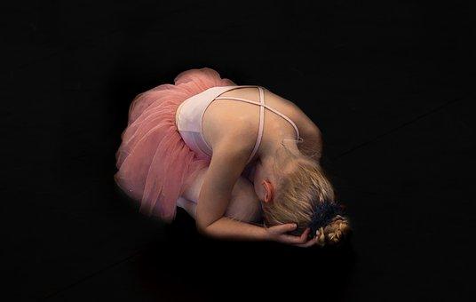 Ballerina, Girl, Pose, Posing, Dancer, Ballet, Tutu