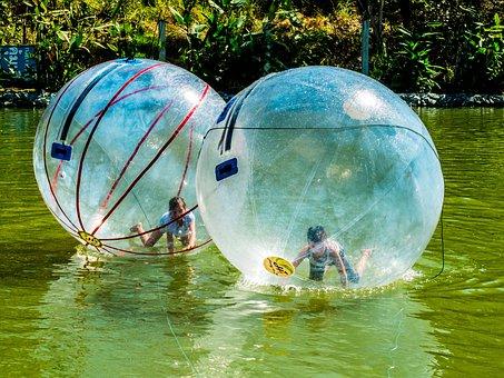 Water Polo, Water, In The Ball Run