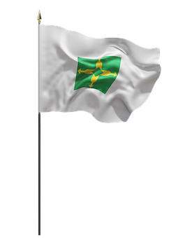 Df, The District, The Federal, Brasilia, Flag, Cloth