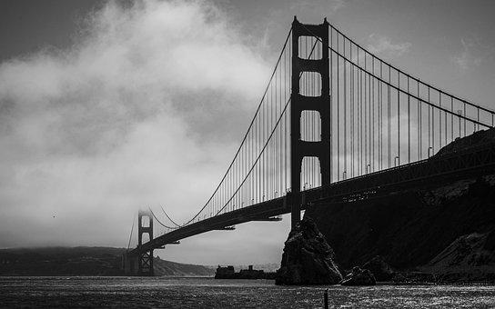 Golden Gate Bridge, California, San Francisco