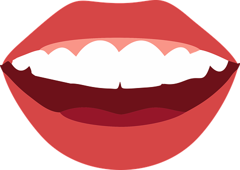 Mouth, Smile, Teeth, Hygiene, Lips