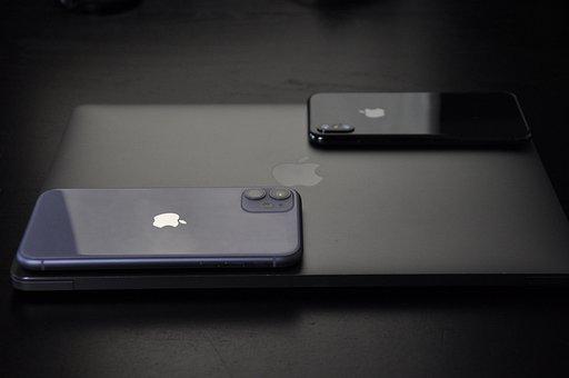 Iphone, Apple, Macbook, Laptop, Mobile, Fire, Iphonex