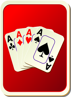 Back Hand, Card, Face, Game, Playing, Aces, Play, Deck