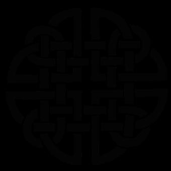 Celtic, Knot, Silhouette, Shape, Pattern, Tattoo