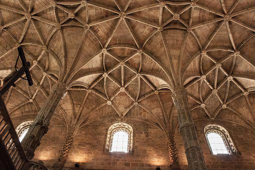 Cathedral, Vaulted Ceilings, Cross Vault