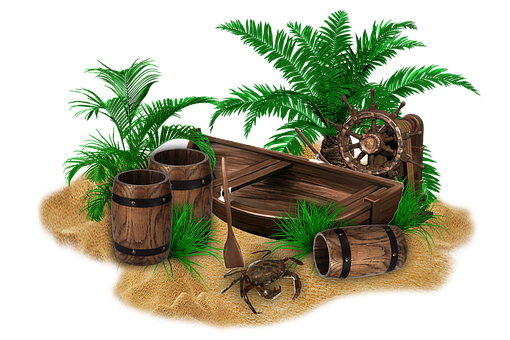 Crab, Paddle, Barrel