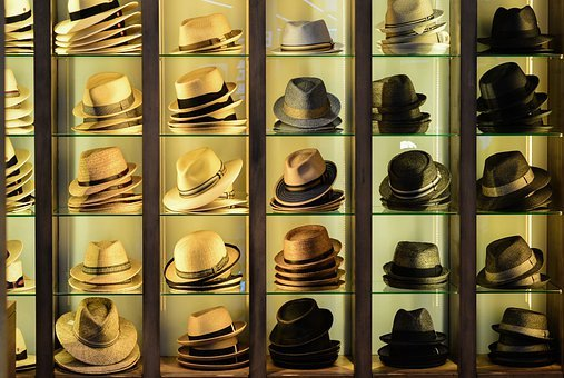 Hats, Fashion, Headwear, Business, Shelf, Hat