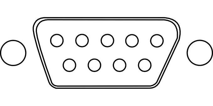 Plug, Computer, Db-9, Rs-232, Connection, Connector