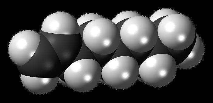 Octene, Spacefill, Alkene, Ball, Model, Molecule